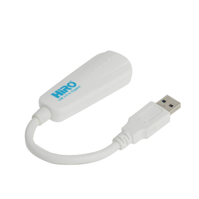 HiRO H50315 USB 3.0 to Gigabit Ethernet LAN Portable Network Adapter
