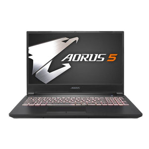 Gigabyte AORUS 5 SB-7US1130SH 15.6 inch Intel Core i7-10750H 2.6GHz/ 16GB DDR4/ 512GB SSD/ GTX 1660 Ti/ USB3.2/ Windows 10 Home Notebook (Black)