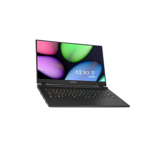 Gigabyte AERO 17 HDR YB-9US4430SP 17.3 inch Intel Core i9-10980HK 2.4GHz/ 32GB DDR4/ 512GB SSD/ RTX 2080 Super Max-Q/ USB3.2/ Windows 10 Pro Notebook (Black)