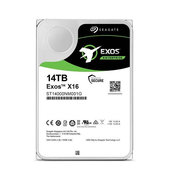 Seagate Enterprise Capacity ST14000NM001G 14TB 7200RPM SATA 6Gb/s 256MB Enterprise Hard Drive (EXOSX16 512E/4KN SATA)