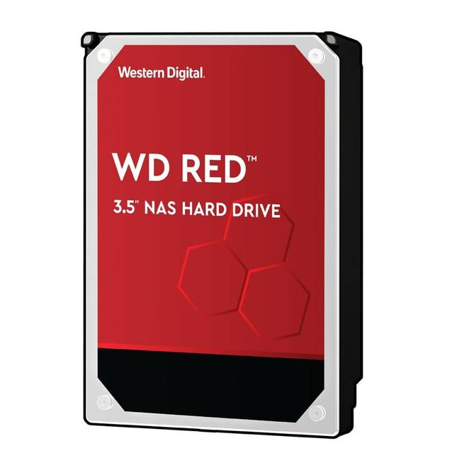 Western Digital Red NAS Storage WD20EFAX 2TB 5400RPM SATA3/SATA 6.0 GB/s 256MB Hard Drive (3.5 inch)