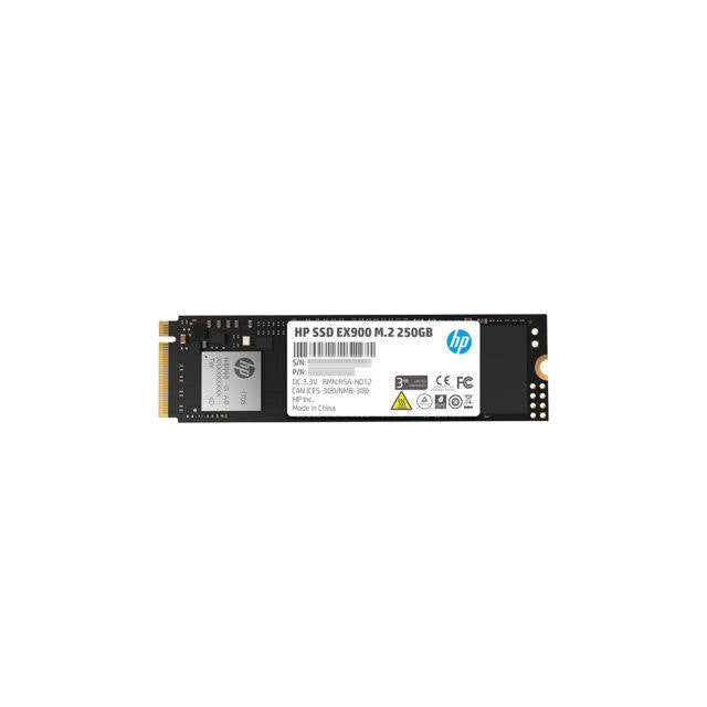 HP EX900 Series M.2 250GB PCI-Express 3.0 x4 NVMe Internal Solid State Drive
