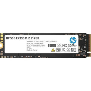 HP EX950 Series M.2 2280 512GB PCI-Express 3.0 x4 NVMe1.3 3D Internal Solid State Drive