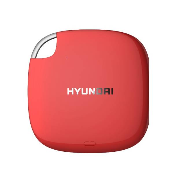 Hyundai HTESD1024R 1TB External Solid State Drive (Candy Apple Red)