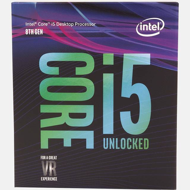 Intel Core i5-8600K Coffee Lake Processor 3.6GHz 8.0GT/s 9MB LGA 1151 CPU w/o Fan, Retail
