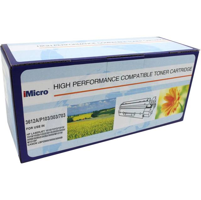 iMicro IM-Q2612A Compatible Toner Cartridge