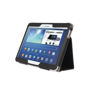 "Kensington K97115WW Comercio 10.1"" Soft Folio Case & Stand for Galaxy Tab 3 (Dermal Black)"