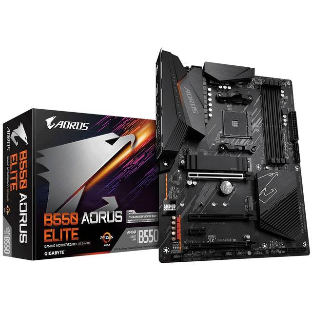 GIGABYTE B550 AORUS ELITE Socket AM4/ AMD B550/ DDR4/ SATA3&USB3.2/ M.2/ ATX Motherboard