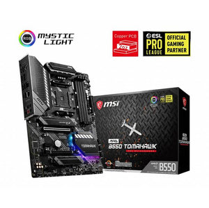 MSI MAG B550 TOMAHAWK Socket AM4/ AMD B550/ DDR4/ 2-Way CrossFire/ SATA3&USB3.2/ M.2/ ATX Motherboard