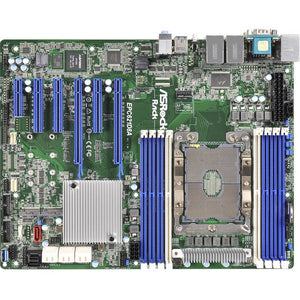 ASRock Rack EPC621D8A Single Socket P LGA 3647/ DDR4/ SATA3&USB3.1/ M.2/ V&A&4GbE/ ATX Server Motherboard