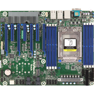 ASRock Rack EPYCD8-2T Single Socket SP3/ DDR4/ SATA3&USB3.1/ V&2GbE/ ATX Motherboard