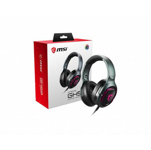 MSI IMMERSE GH50 Wired USB Virtual 7.1 Surround Sound Gaming Headset w/ Microphone