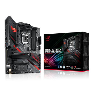 Asus ROG STRIX B460-H GAMING LGA1200/ Intel B460/ DDR4/ 2-Way CrossFireX/ SATA3&USB3.2/ M.2/ WiFi/ ATX Motherboard