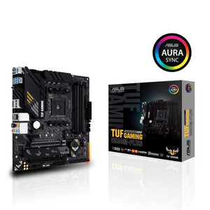 Asus TUF GAMING B550M-PLUS Socket AM4/ AMD B550/ DDR4/ 2-Way CrossFireX/ SATA3&USB3.2/ M.2/ mATX Motherboard