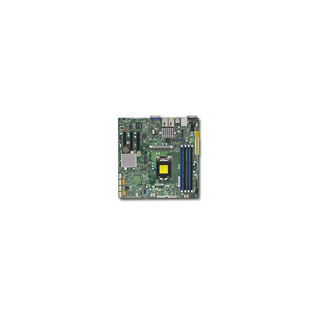 Supermicro X11SSH-TF-B LGA1151/ Intel C236/ DDR4/ SATA3&USB3.0/ V&2GbE/ MicroATX Server Motherboard