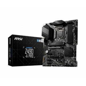 MSI Z490-A PRO LGA1200/ Intel Z490/ DDR4/ 2-Way CrossFire/ SATA3&USB3.2/ M.2/ ATX Motherboard