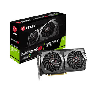 MSI NVIDIA GeForce GTX 1650 D6 GAMING X 4GB GDDR6 HDMI/2DisplayPort PCI-Express Video Card