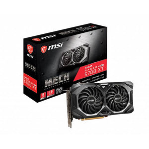 MSI R5700XTMHC AMD Radeon RX 5700 XT MECH OC 8GB GDDR6 HDMI/3Displayport PCI-Express 4.0 Video Card