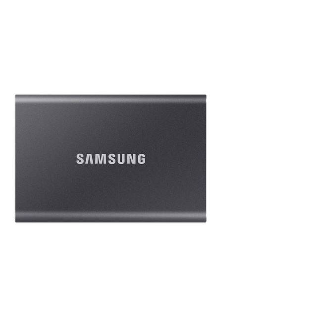 Samsung T7 Touch 2TB USB 3.2 Portable Solid State Drive (Gray)
