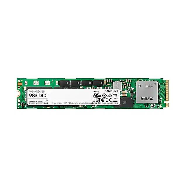 Samsung 983 DCT Series 960 GB M.2 PCI-Express 3.0 x4 Solid State Drive (Samsung V-NAND 3-bit MLC)