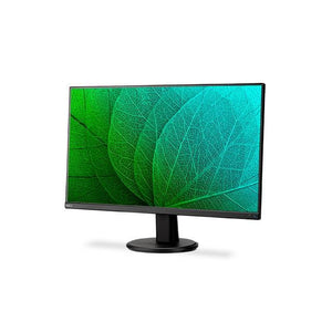 NEC AS241F-BK 23.8 inch Narrow Bezel 1,000:1 6ms VGA/HDMI/HDMI/DisplayPort LED LCD Monitor, w/ Speakers (Black)
