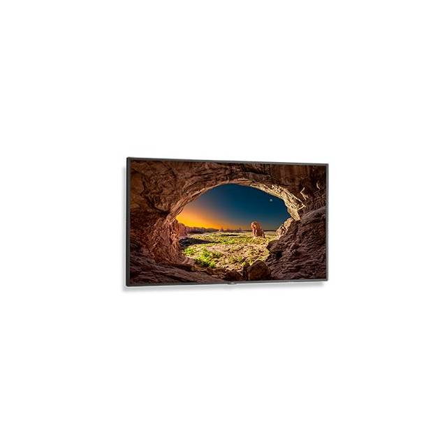 NEC V554 55 inch Large Screen 1,200:1 8ms Composite/VGA/DVI/HDMI/DisplayPort LED LCD Monitor, w/ Speakers