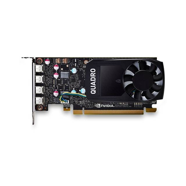 PNY NVIDIA Quadro P620 2GB GDDR5 4Mini DisplayPorts PCI-Express Video Card