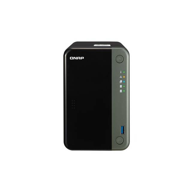 QNAP TS-253D-4G-US Quad-core 2.5GbE NAS Server for SMB
