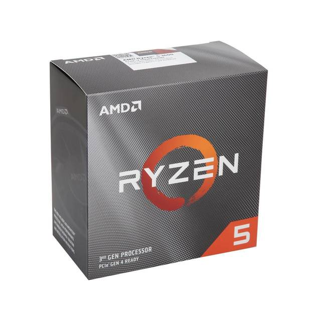 AMD 100-100000031BOX Ryzen 5 3600 Six-Core 3.6GHz Socket AM4, Retail