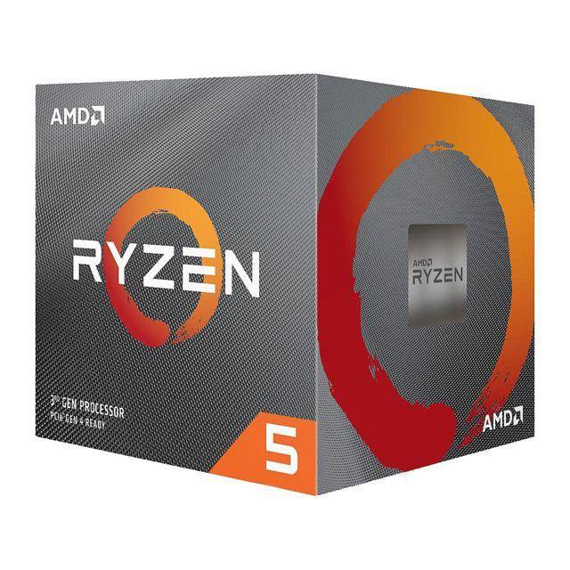 AMD 100-100000022BOX Ryzen 5 3600X Six-Core 3.8GHz Socket AM4, Retail