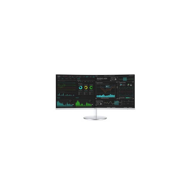 Samsung CJ791 Series C34J791WTN 34 inch 3,000:1 4ms HDMI/DisplayPort/USB LED LCD Monitor (White/Silver)