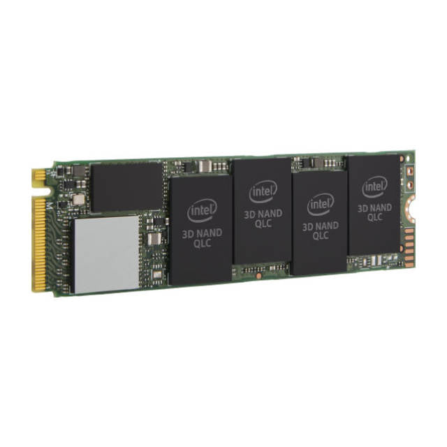 Intel 660p Series SSDPEKNW512G8X1 512GB M.2 80mm PCI-Express 3.0 x4 Solid State Drive (QLC)