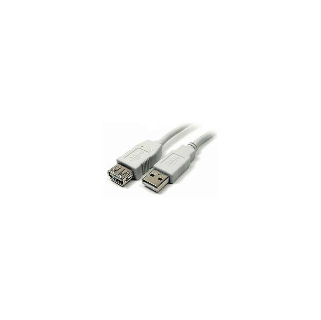 iMicro 10ft A/A M/F 10ft USB 2.0 Type A Male to USB 2.0 Type A Female Extension Cable