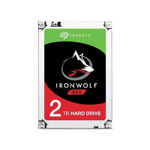 Seagate IronWolf NAS ST2000VN004 2TB 5900RPM SATA 6.0 GB/s 64MB Hard Drive (3.5 inch)