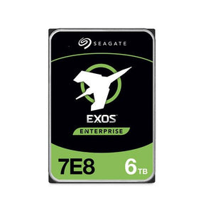 Seagate Enterprise Capacity ST6000NM003A 6TB 7200RPM SAS 12.0 GB/s 256MB 512n Enterprise Hard Drive  (3.5 inch, Exos 7E8 HDD 512N SAS)