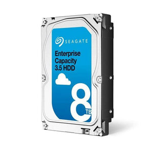 Seagate Enterprise Capacity ST8000NM0085 8TB 7200RPM SAS 12.0 GB/s 256MB Enterprise Hard Drive  (3.5 inch, Exos 7E8 HDD 512E SAS SED)