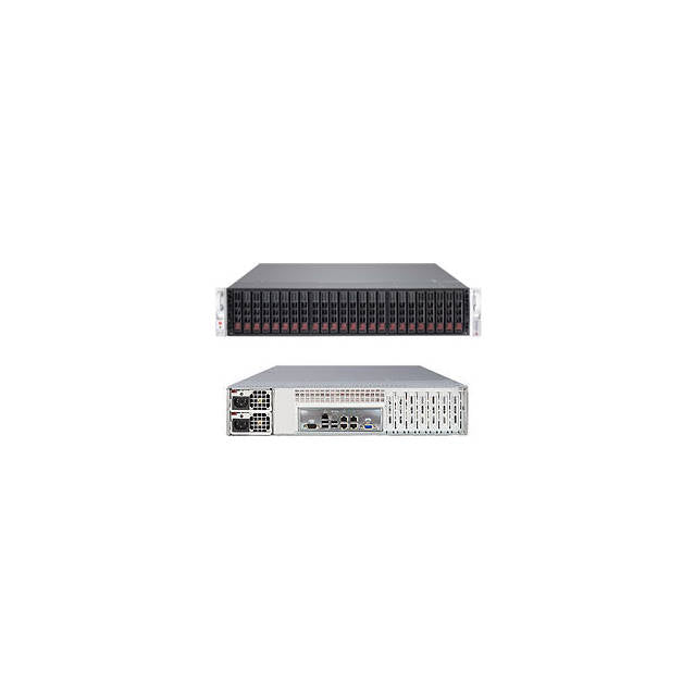 Supermicro SuperStorage Server SSG-2027R-E1R24L Dual LGA2011 920W 2U Rackmount Server Barebone System (Black, OPEN BOX)