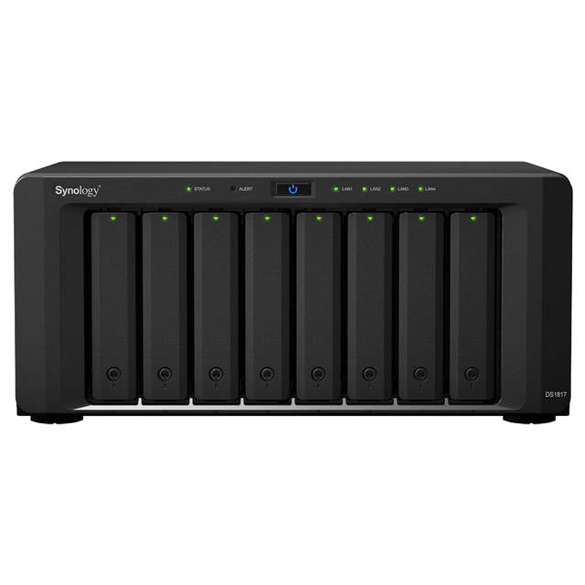 Synology DiskStation DS1817 8-Bay Desktop NAS for SMB