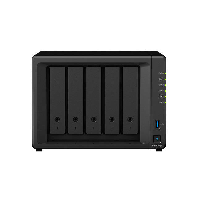 Synology DiskStation DS1019+ 5-Bay Desktop NAS for SMB