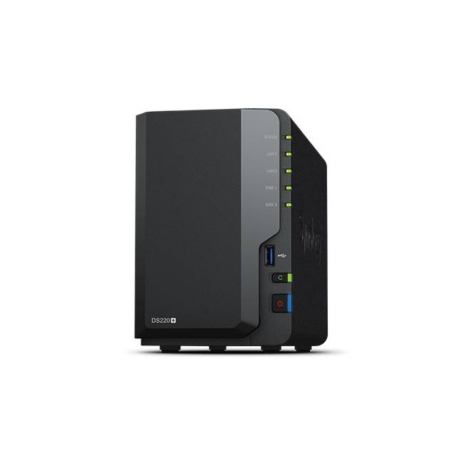 Synology DiskStation DS220+ 2-Bay Desktop NAS