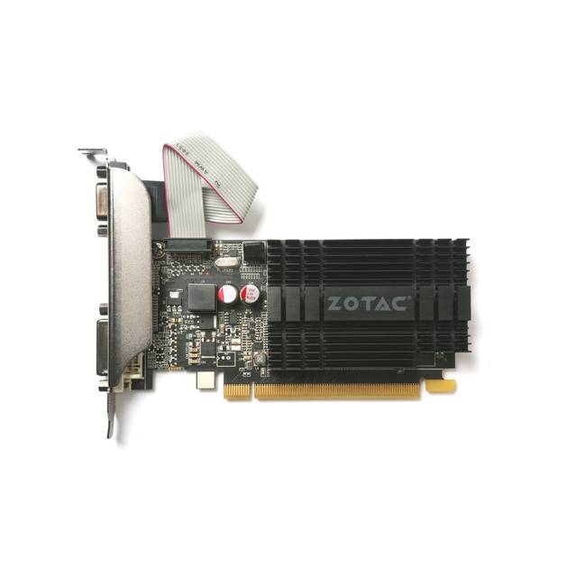 ZOTAC NVIDIA GeForce GT 710 2GB DDR3 VGA/DVI/HDMI Low Profile PCI-Express Video Card