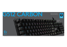 Load image into Gallery viewer, G512 Carbon Keyboard