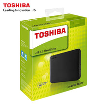 Load image into Gallery viewer, TOSHIBA 500GB External HDD Portable