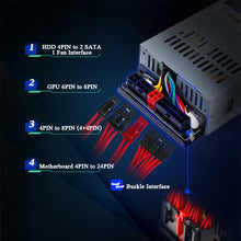 Load image into Gallery viewer, PC Power Supply 500W