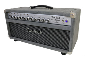 Two-Rock Silver Sterling Signature 100 Watts Grey Suede