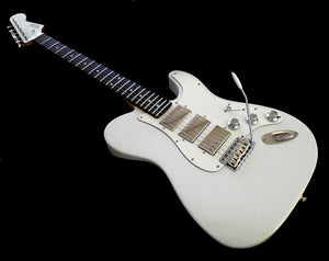 Verrilli White Beauty T/S Style with 3 Humbuckers
