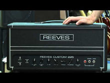 Load and play video in Gallery viewer, Reeves Custom 225 Bass Amp