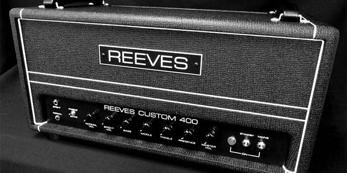 Reeves Custom 400 Bass Amp