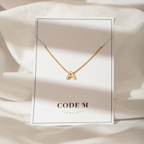 "Necklace ""Letter"""