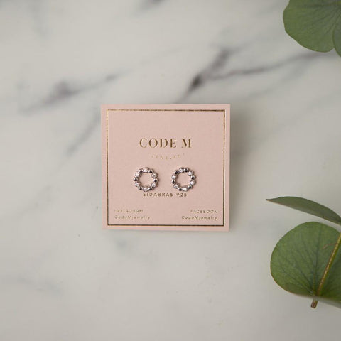 "Earrings ""Circle"" (silver)"